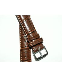 Watch Brown Strap 20mm for leather strap watches 507S