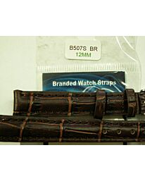 Watch Brown Strap 12mm for leather strap watches