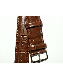 Watch Brown Strap 22mm for leather strap watches 507G