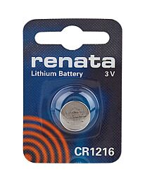 Renata CR1216 Watch Battery (10 Pack)
