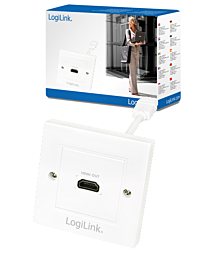 LogiLink HDMI 1 Port Wall Socket