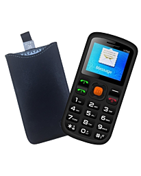 Uniwa V708 Big Button Mobile Phone For Elderly - SOS Mobile Phone with Phone Case Free