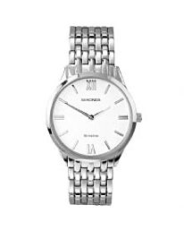 Sekonda Men's Fashion White Dial Bracelet Watch 1608