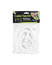 Cable Tidy Kit - White