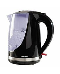 Daewoo 1.7lt kettle with colour changing feature