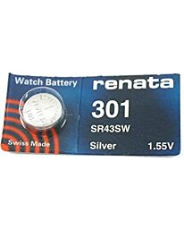Renata 301  Watch Battery(10 Pack)
