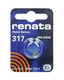 Renata 317 Watch Battery (10 Pack)