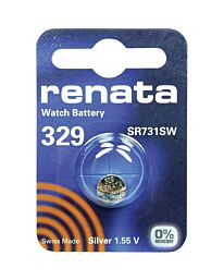 Renata 329 Watch Battery (10 Pack)