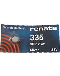 Renata 335 Watch Battery (10 Pack)