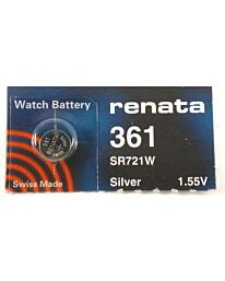 Renata 361 Watch Battery (10 Pack)