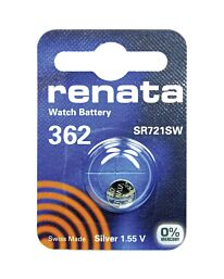 Renata 362 Watch Battery (10 Pack)