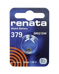 Renata 379 Watch Battery (10 Pack)