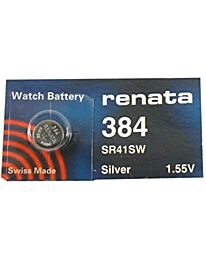 Renata 384 Watch Battery (10 Pack)