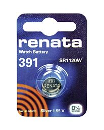 Renata 391 Watch Battery (10 Pack)