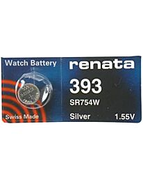 Renata 393 Watch Battery (10 Pack)