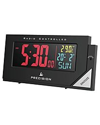 Precision Radio Controlled Colour Display Alarm Clock AP056
