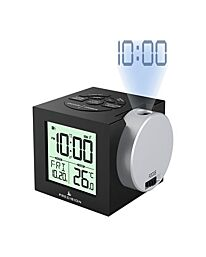 Precision Radio Controlled Projection Alarm Clock AP057