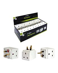 3 Way Adapter - 13A