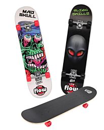 """Obozz  31"""" Maple Chaser Wooden Skateboard Assorted Colours"""
