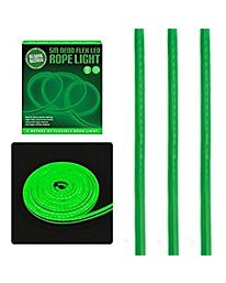 Global Gizmos 5 Metre LED Neon Flex Decorative Rope Light - Green