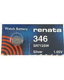 Renata 346 Watch Battery (10 Pack)