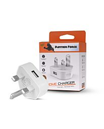 Panther Force USB 3 Pin 1 Amp Charger