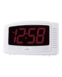 "Acctim 'Vian' 1.2"" Red LED Alarm Clock"