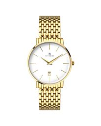Accurist Men's Classic Date Gold Bracelet Wristwatch 7160