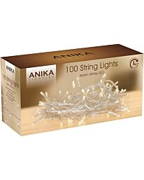100 LED Warm White String Light
