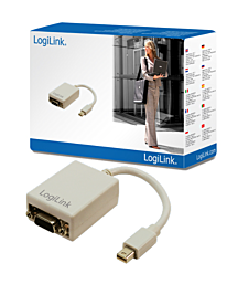 LogiLink Mini DP Male to VGA 15 Pin Female Adaptor Cable