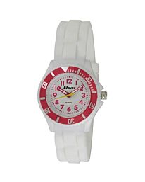 Ravel boy girl Sports Silicon Sports Watch White R1802.4