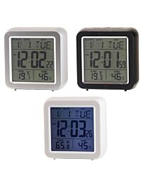 Ravel Table Desk Square Shape Digital Alarm Clock RCD001