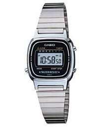 Casio Ladies Silver LA670WA-1DF Watch