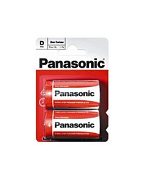Panasonic D Size Zinc Carbon Batteries R20