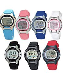 Casio Boy Girl Unisex Digital with Date Rubber Strap Watch LW-200