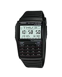 Casio Men's Data Bank Calculator Black Resin Strap Watch DBC-32-1ADF