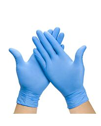 Power-Free Nitrile Examination Gloves Blue - Medium (box of 200pcs)