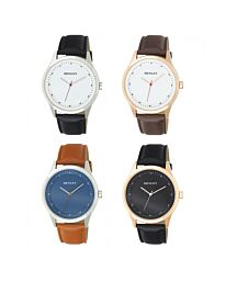 Henley Men's Classic Analogue Leather Strap Watch H02200
