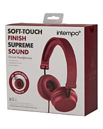 Soft Touch Finish Supreme Sound Red