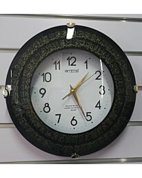 AMMS Islamic Wall Clock Round with Beautiful Design