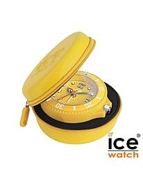 Ice-Clock 90 mm Travel Alarm Clock Yellow ITAF.YW