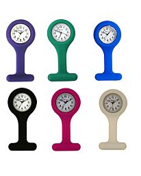 Ravel Silicone Nurses Fob Watch R1103