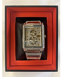 NY LONDON GENTS BLING WATCH SILVER