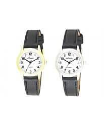 Ravel Ladies Classic Leather Strap Watch R0132