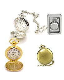 Ravel Polished Plain Pocket Watch R1001.03 R1001.04 R1001.44