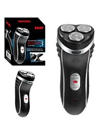 3-Head Mens Shaver Smooth Action