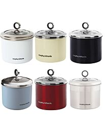 Morphy Richards Small Storage Canister Stainless Steel 14x13cm