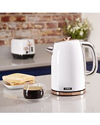 Tower 1.7lt cordless jug Gold/White