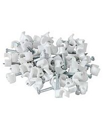 Telephone cable clips(50)