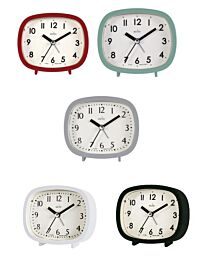 Acctim Hilda Alarm Clock 1590 - Multiple Colour